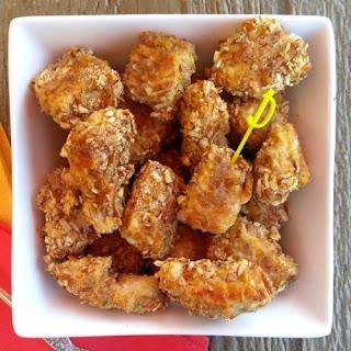 Pretzel Chicken Tenders.