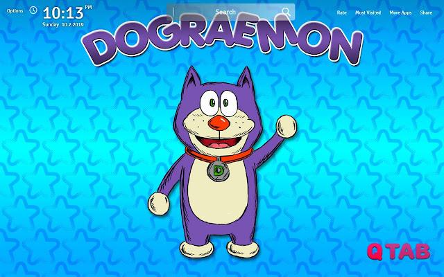 Doraemon Wallpapers Theme Doraemon New Tab