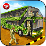 Army Bus Driver US Soldier Transport Duty 2017 Icon