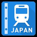 Japan Rail Map - Tokyo & Osaka icon