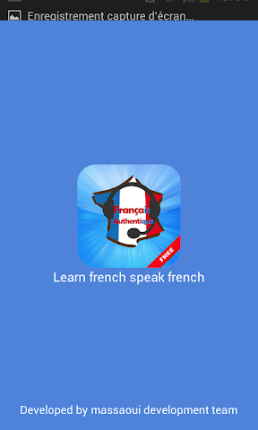 android learn french speak french Screenshot 0