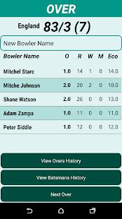 Cricket Scorer - náhled