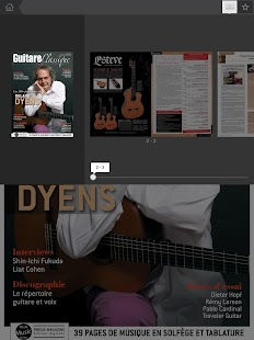 Guitare Classique Magazine- screenshot thumbnail