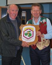 Photo: Elmer Kennedy receives his award