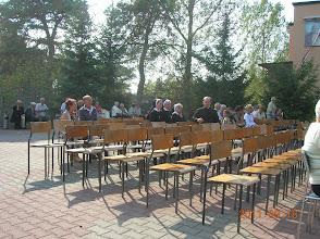 Photo: Uczestnicy uroczystości - powoli się schodzą