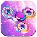 Neon Fidget Spinner Theme icon