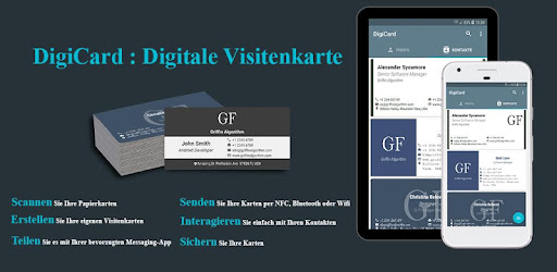 Digicard Digitale Visitenkarte Apps Bei Google Play
