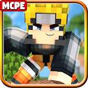 Ninja Anime Heroes Mod MC Pocket Edition icon