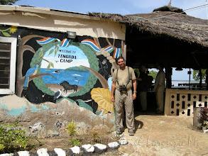 Photo: Yo en Tendaba Camp