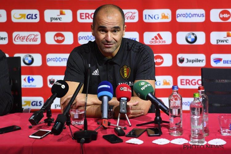 Roberto Martinez met la pression avant le match amical contre l'Arabie Saoudite