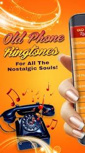 Starý Telefon Vyzvánění Retro Zvuky