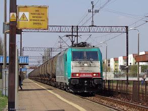 Photo: E 186 243-2 (Orlen KolTrans) {Włocławek Zazamcze; 2015-04-25}