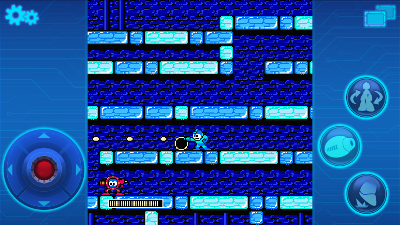 MEGA MAN 2 MOBILE: captura de pantalla