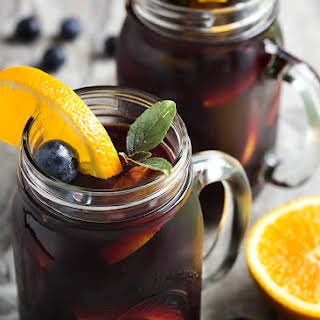 Blueberry Sangria Recipes.
