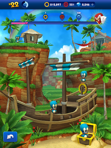 Sonic Dash - Endless Running & Racing Game  screenshots 17