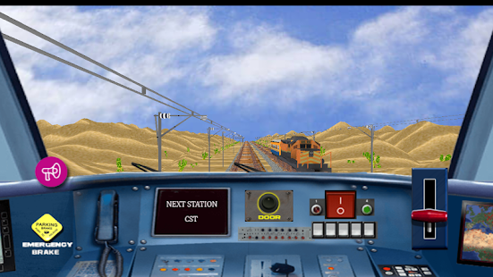 Train Driving Simulator - náhled