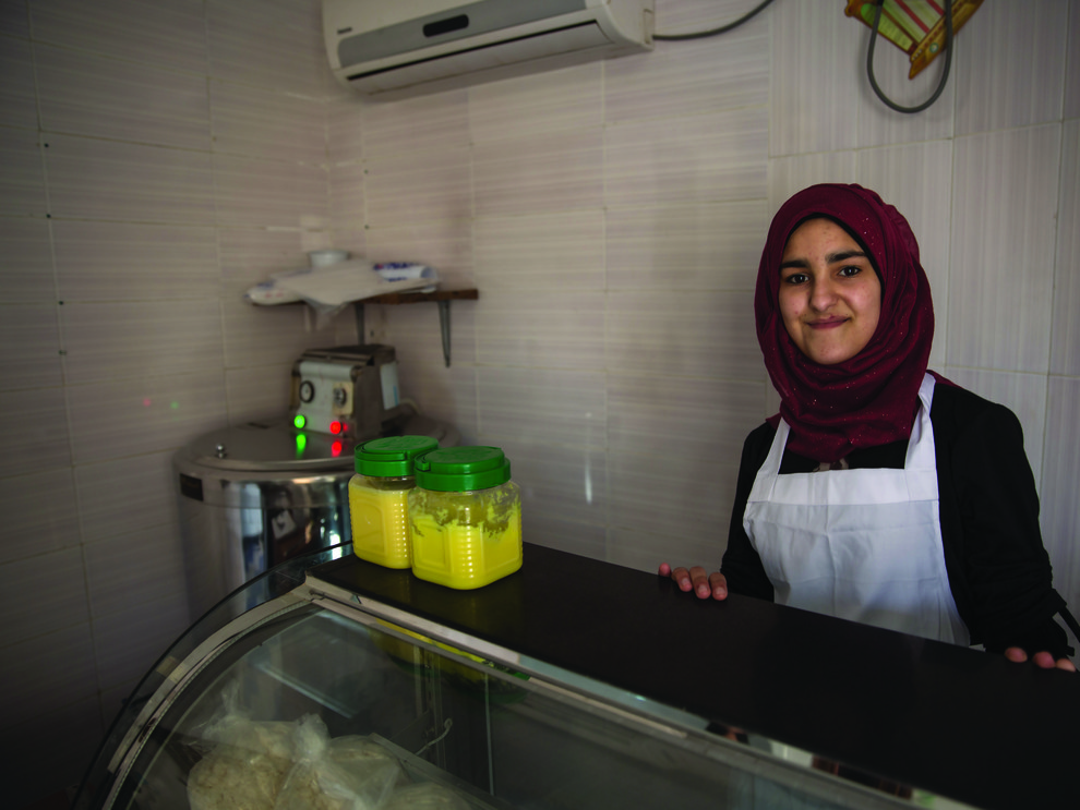 Bassima, 17, future chef
