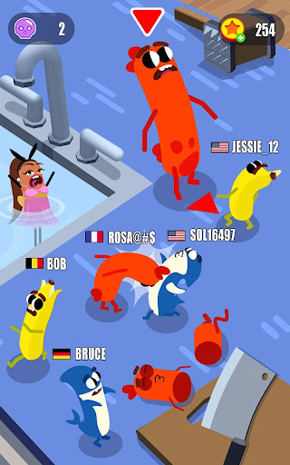 Sausage Wars.io apktreat screenshots 1