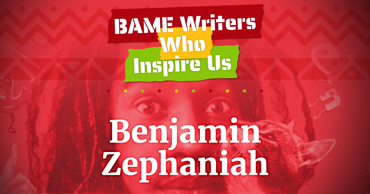 BAME writers benjamin zephaniah