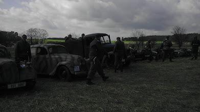 Photo: Fotografie a videa z dubnové školy řidičů na tankodromu v Milovicích, které se pod vedením VCC Sturm zúčastnili i členové Klubů vojeské historie Wurm, Choceň a Süd.