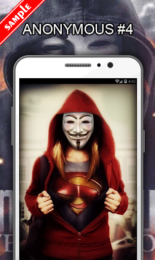 Anonymous Wallpapers  screenshots 5
