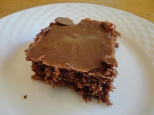 "Click Here for Recipe: Chocolate Texas Sheet Cake ""I literally dreamt about..."
