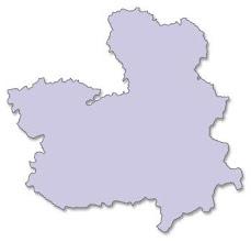 Photo: Mapa Castilla - La Mancha (mudo)