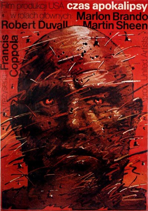 Polski plakat filmu Czas Apokalipsy