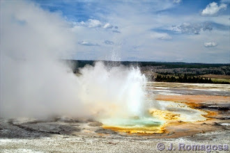 Photo: One of many Yellowstone geysers. Now on Amazon: http://www.amazon.com/gp/product/B006N3AGCA