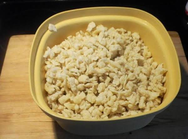Homemade Spaetzle, An Old Recipe, From Germany