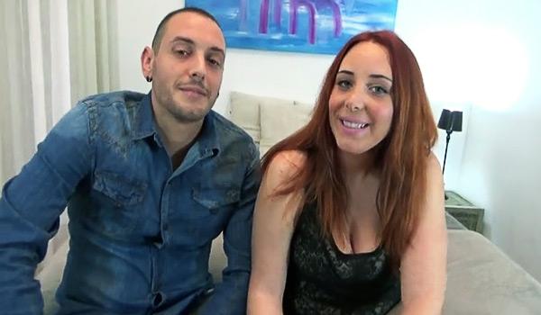 Samira y Dani en un casting porno con Maria, una loca sexual