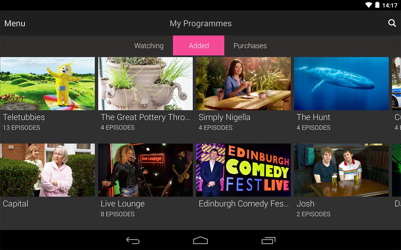 BBC iPlayer screenshot #20