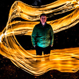 by Adam Snyder - Abstract Light Painting