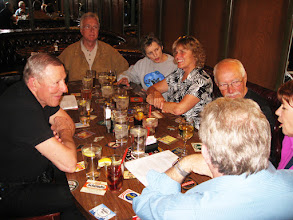 Photo: Friday's dinner group at the Solvang Brewing Company