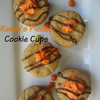 Reese's Pieces Cookie Cups