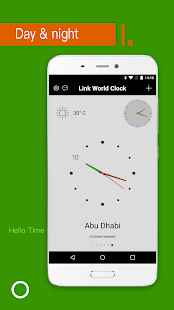 World Clock-International Clock&Time Clock app Screenshot