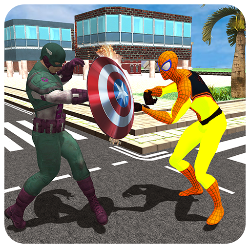 Captain Hero VS Super Spider Revenge
