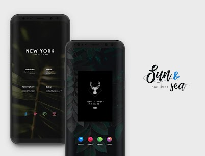 Sun & Sea for KWGT v3.2 [Paid] APK 6