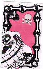 Photo: Wenchkin's Mail Art 366 - Day 135, Card 135a