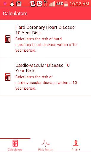 Framingham Risk Calculator