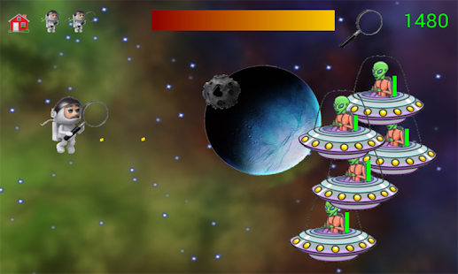 Alien vs Astronaut Game - náhled