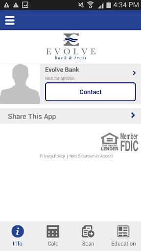 Evolve Bank Trust Mortgage