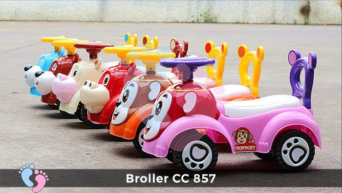 Xe chòi chân trẻ em Broller CC-857 2