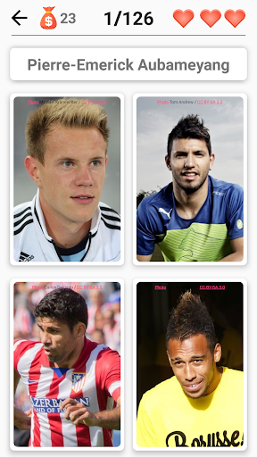 Soccer Players - Quiz about Soccer Stars! screenshots 2