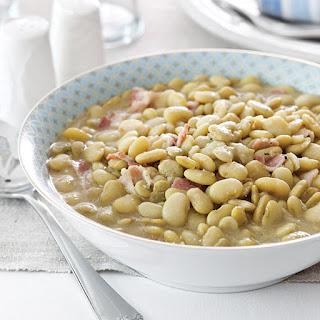 Aunt Peggy's Lima Beans.