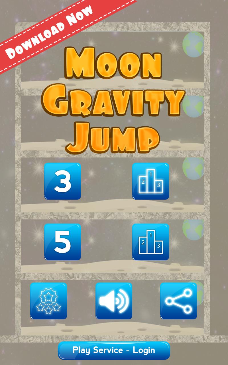 Скриншот Moon Gravity Jump