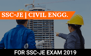 SSC-JE – Civil Engineering Course