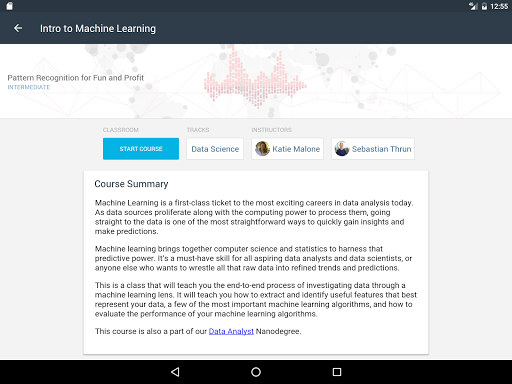 Udacity - Lifelong Learning 3.9.1 screenshots 9