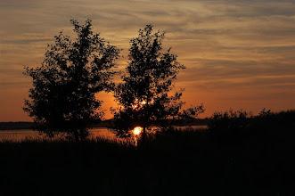Photo: Lipcowy zachód słońca nad jez. Ewingi (Ewing See)