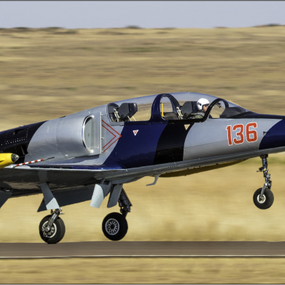 L39 Jet by Hannes Kruger - Transportation Airplanes ( landing, airplane, take off, jet, airshow )